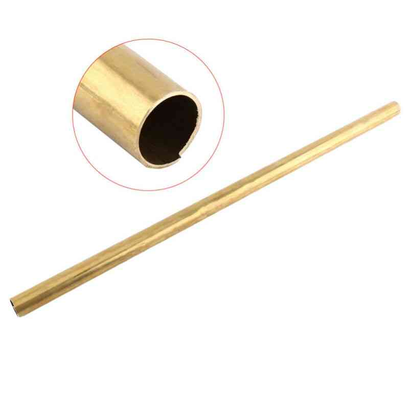 Brass Tube Pipe Tubing Round Outer Long Wall