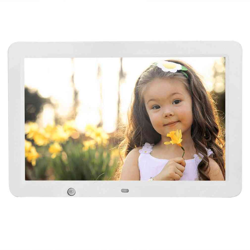 12 Inch Hd Digital Photo Frame With Wireless Remote Control, Motion Senser And 8gb Memory