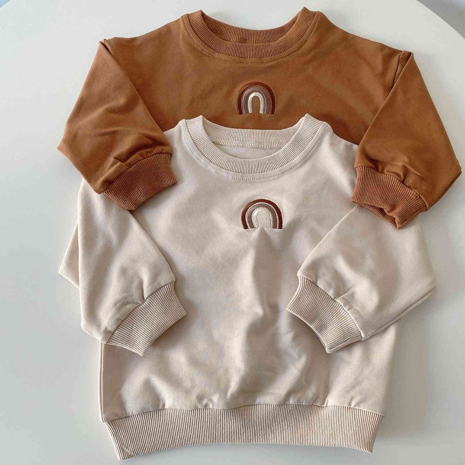 Children Pullovers Autumn Sweatshirts Twins Clothes For Girl Tops