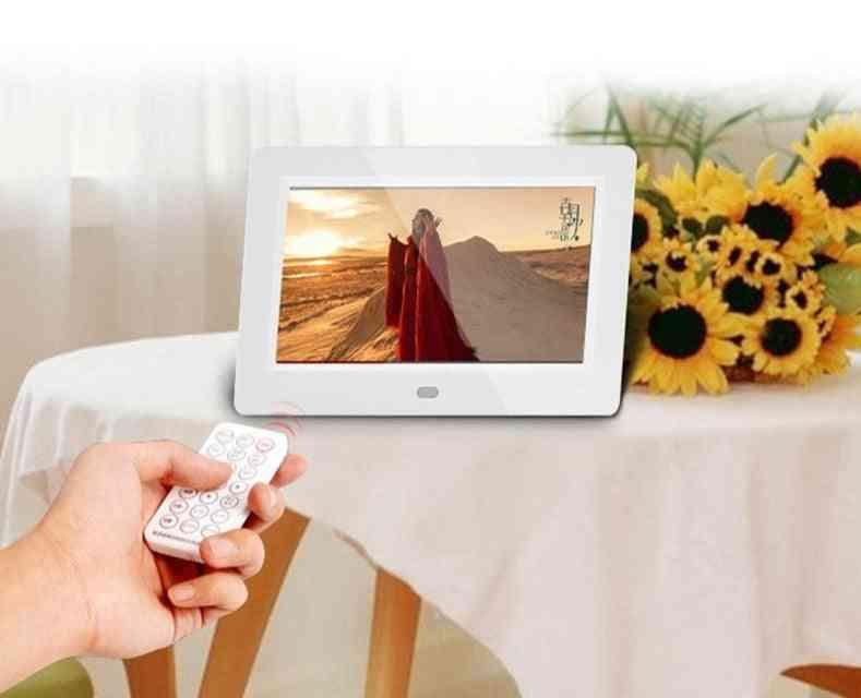 7 Inch Digital Photo Frame, Hd 1080p