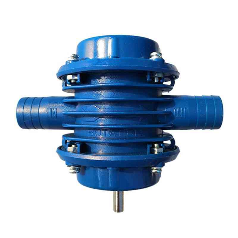 Heavy Duty Self-priming Hand Electric Drill Water Pump Micro Submersibles Motor, Ultra Garden Centrifugal