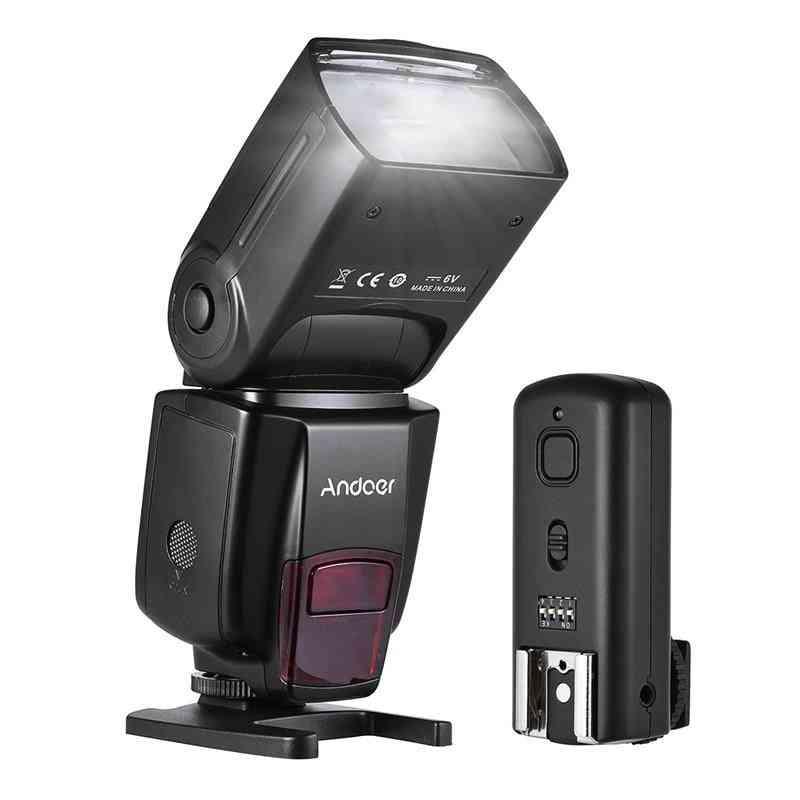 Ad560 Iv 2.4g Wireless Universal On-camera Slave Speedlite With Trigger