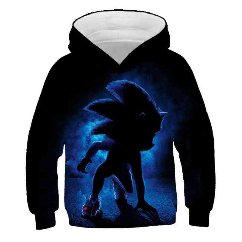 Sonic The Hedgehog Sweatshirt For /
