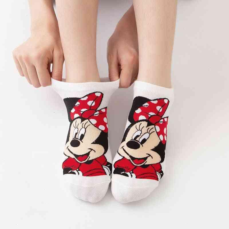 Mickey Cute Cartoon - Cotton Socks