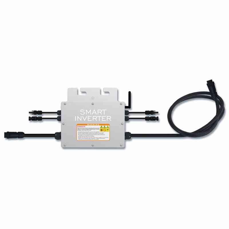 Waterproof 700w Watt On Grid Microinverter Inversor Input 18-50vdc