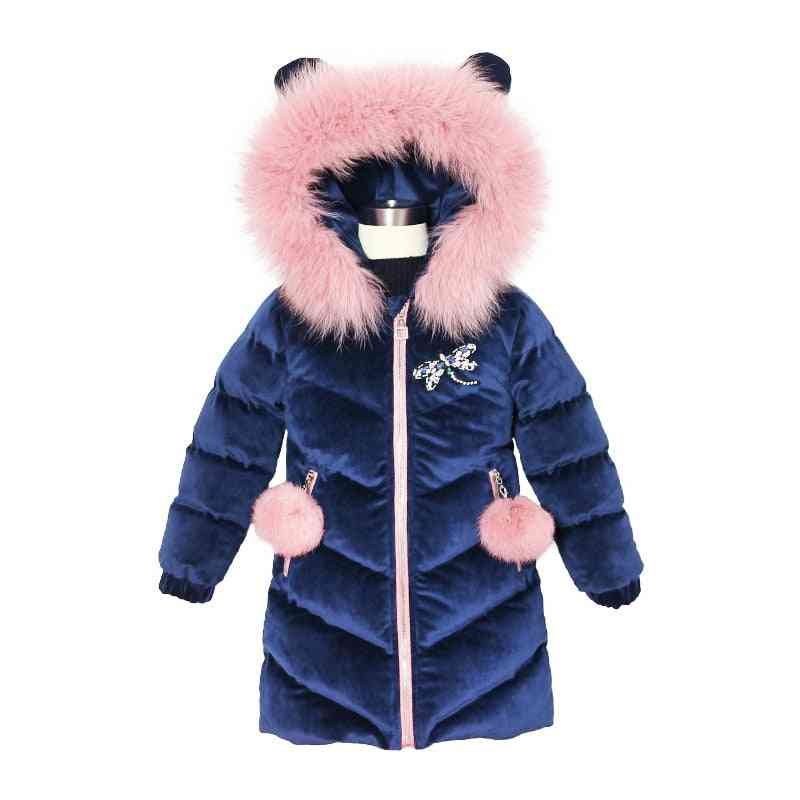 Thicken Winter Hooded Jacket For Outwear