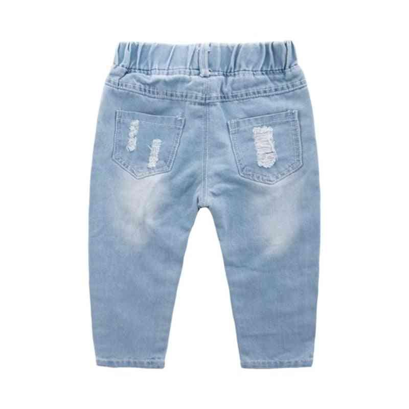 Children Ripped Denim Pants For &