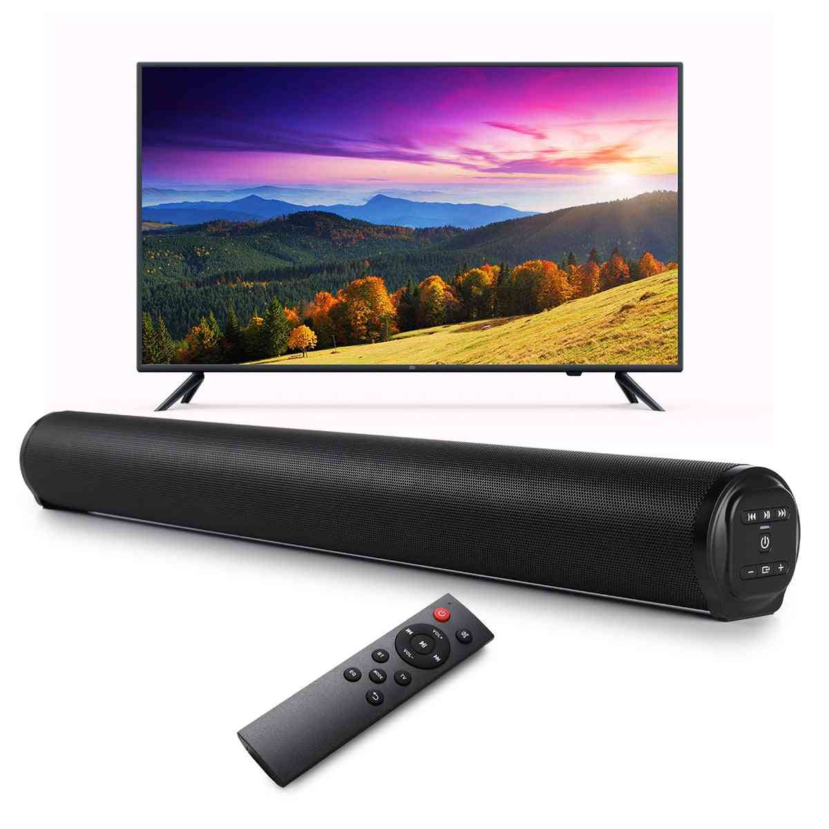 20w Wireless Bluetooth Speaker 5.0, Tv Soundbar