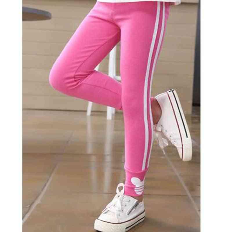 Girls Leggings, Cotton Pants For Sport