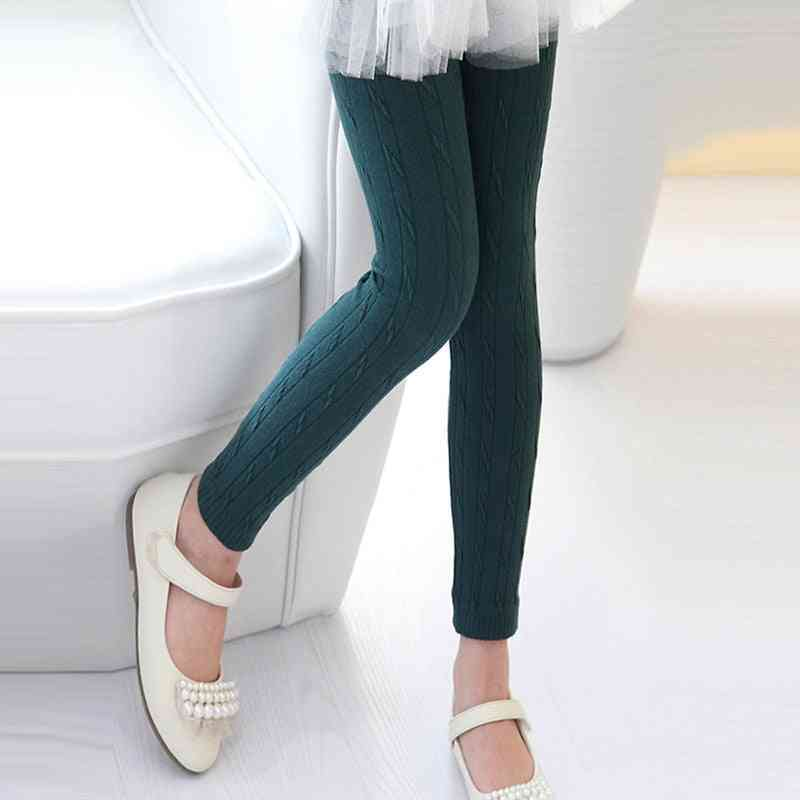 Girl Getry Pants- Warm Autumn And Winter Trousers Leggings