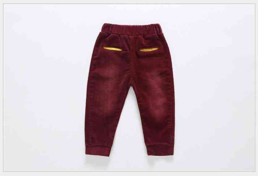 Winter Warm Baby Pants, / Cotton Trousers