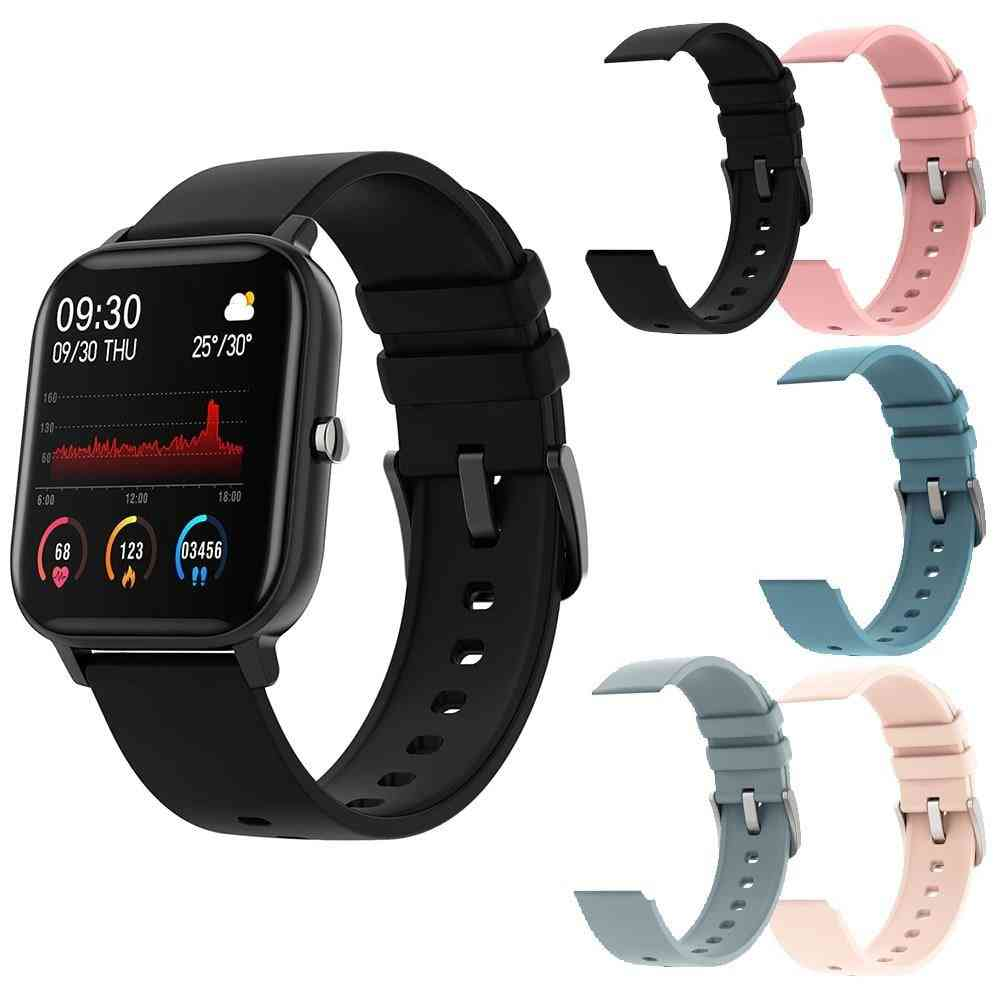 P8 1.4 Inch Smart Watch, Full Touch Fitness Tracker Blood Pressure Clock