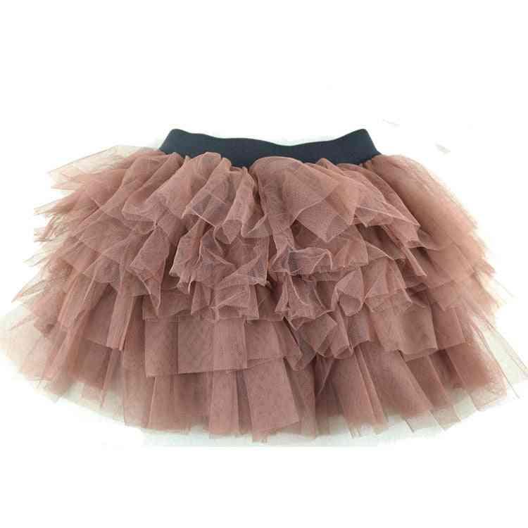Girls Skirts, Brown Tutu Fluffy For Baby