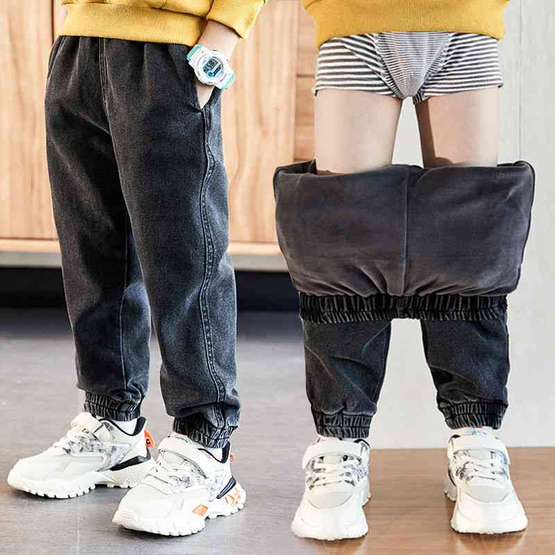 Autumn And Winter Jeans, Cotton Washed Pants