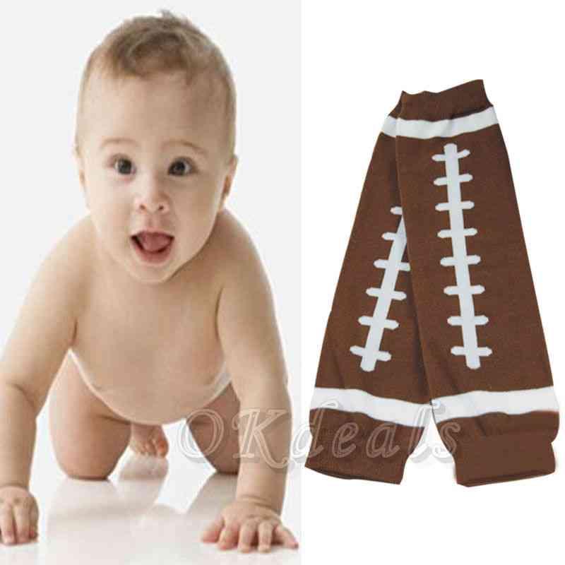 Winter American Football Baby Kids Child Arm Leg Warmers Cotton Toddler Legging