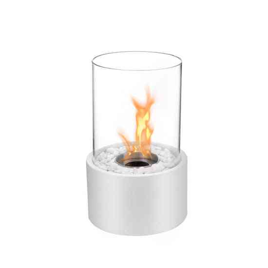 Fireplace With Bio Ethanol Burner Table Model Without Remote Control