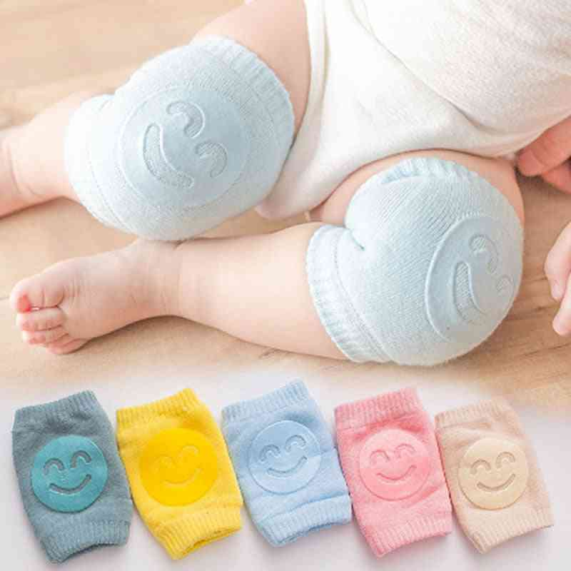 Baby Stockings Elbow Pad, Crawling Knees Smiley Face Leg Warmers