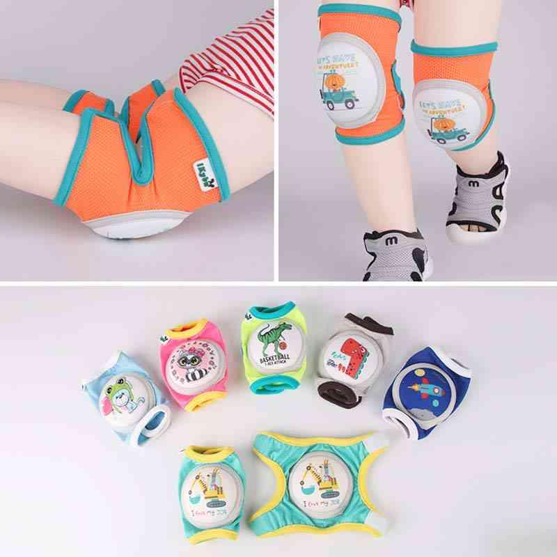 Cartoon Baby Sport Knee Pad, Safety Crawling Elbow Cushion