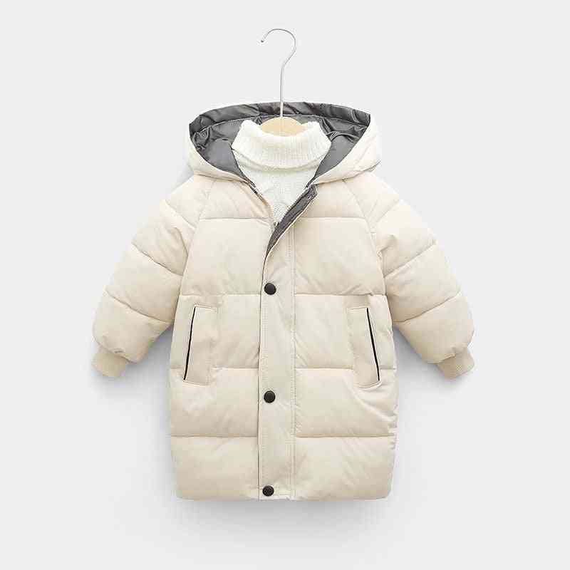 Winter Teenage Baby Cotton-padded Parka - Thicken Warm Long Jackets
