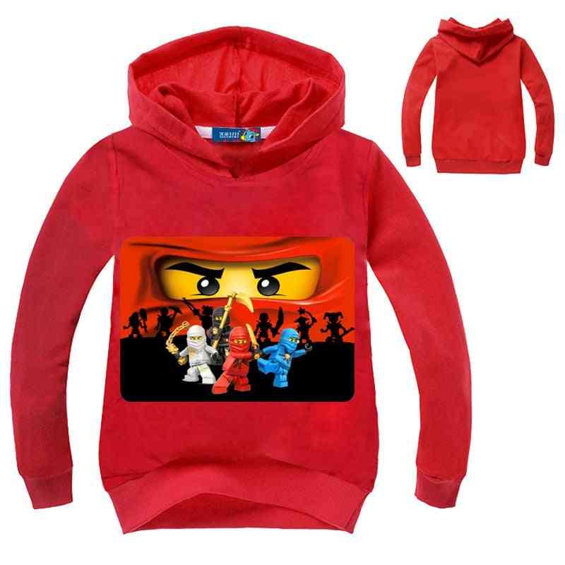 Long Sleeve Super Heroes Printed Sweatshirt