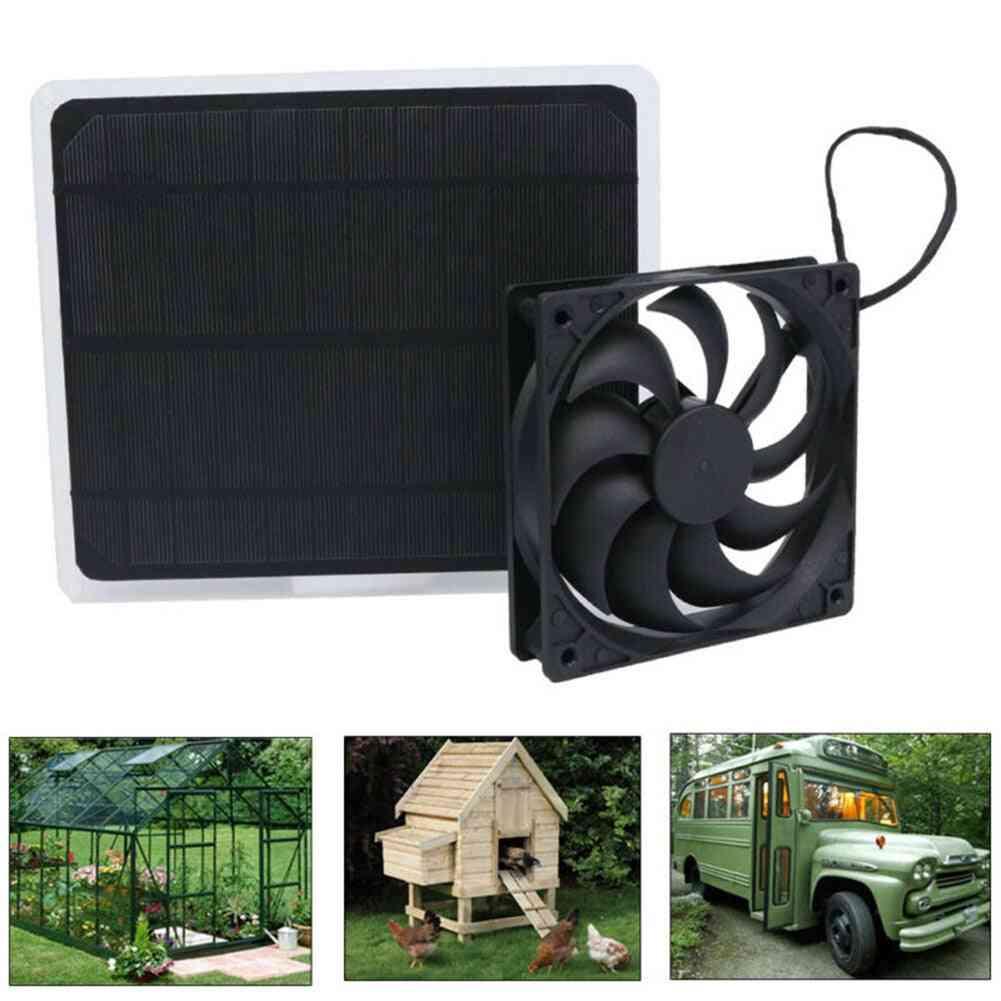 Mini Ventilator 10w Solar Exhaust Fan