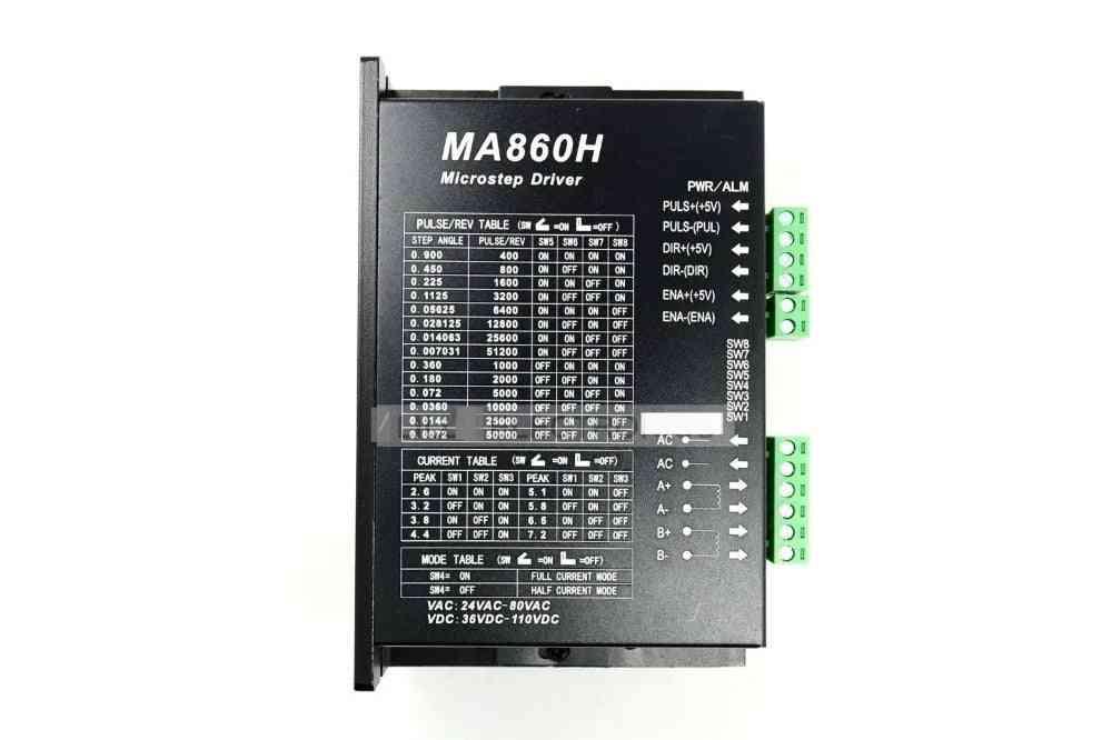 Cnc 86 110 Stepper Motor Driver For Nema23/34/42 7.2a/ac18-80v/dc24-120v