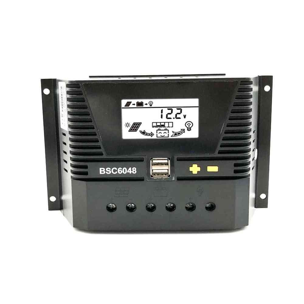 Solar Charge Controller -auto Backlight Lifepo4 Lithium Battery 3.2v 3.7