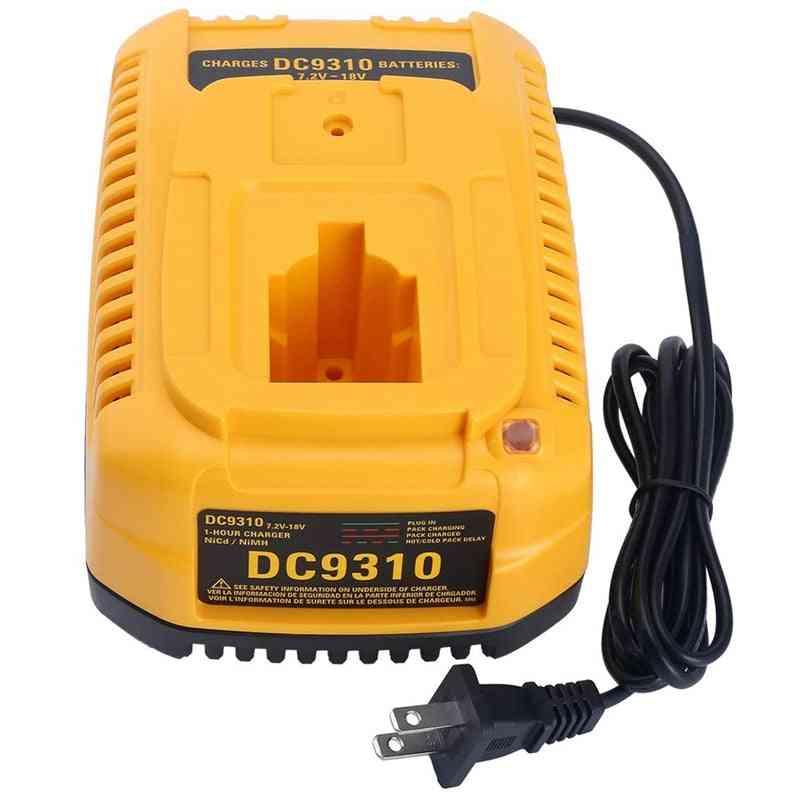 Fast Charger For Dewalt 7.2v-18v, Ni-mh Battery