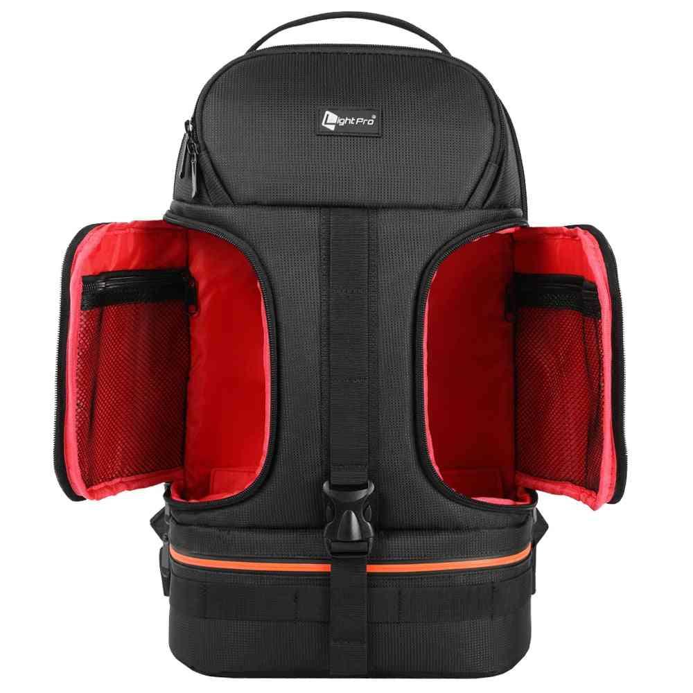 Waterproof Shoulder Backpack For Camera, Tripod, Laptops