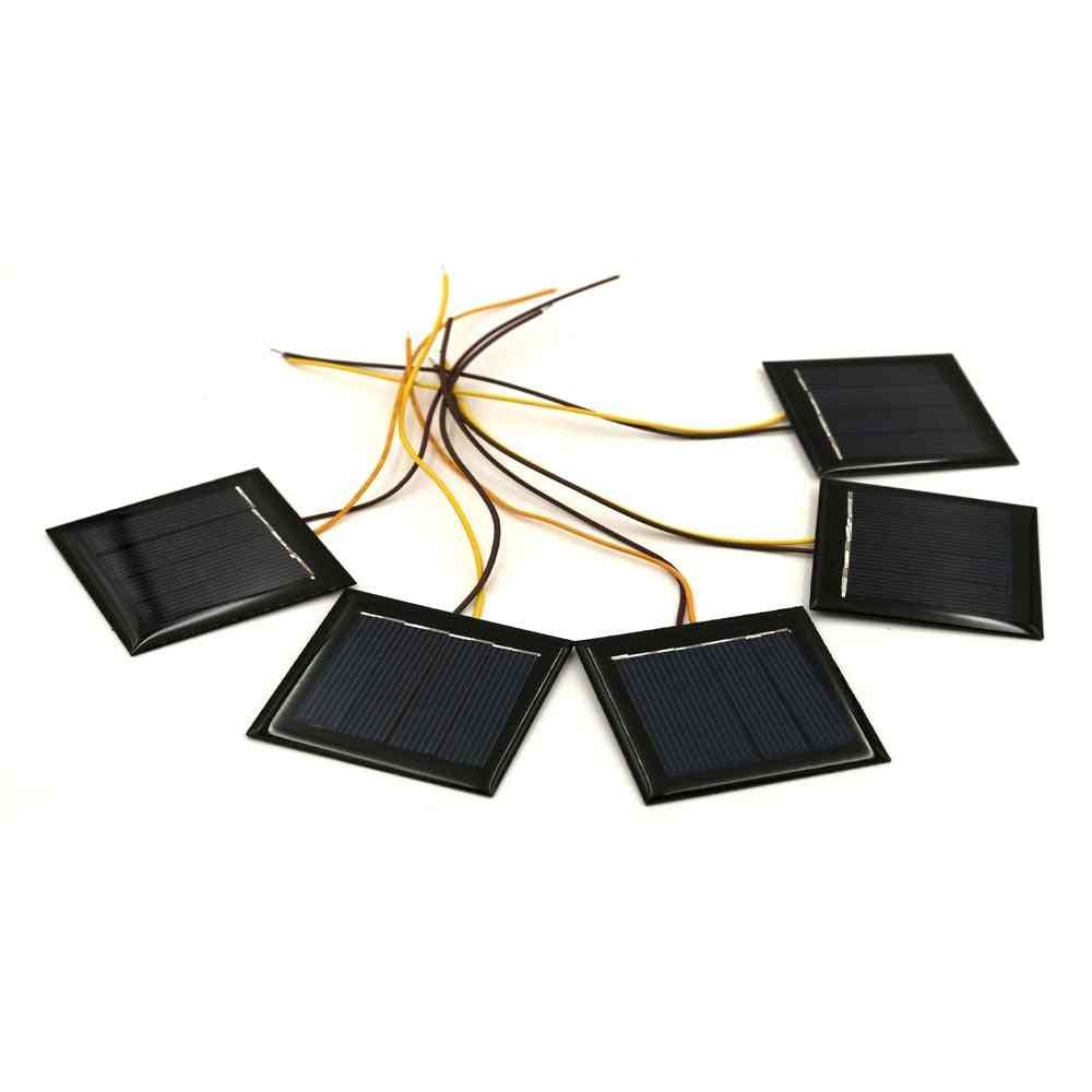 2v 100ma Solar Panel With 15cm Extend Wire