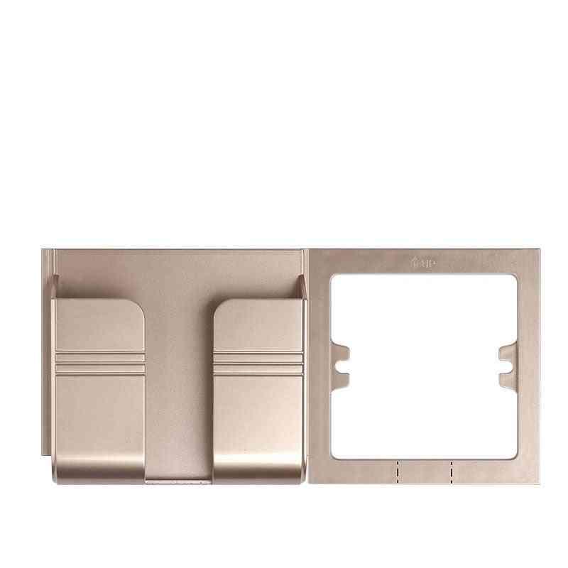 Eu Socket Usb Port Wall Charger, Adapter Plug Socket Outlet Holder