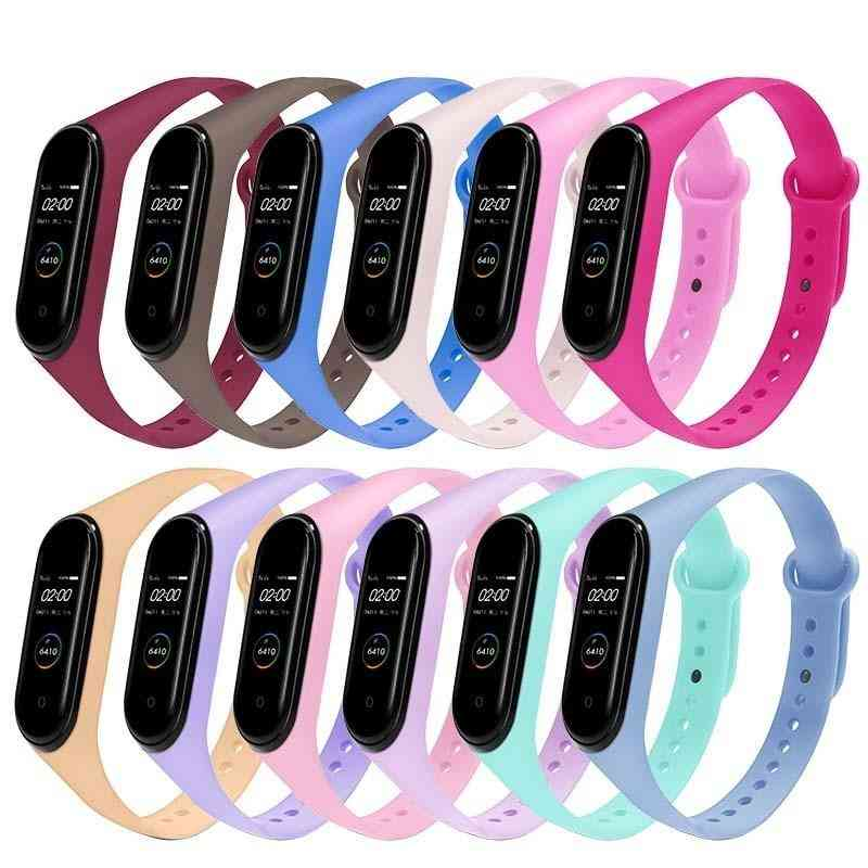 Fashional Colorful Strap, Silicone Belt Replacement