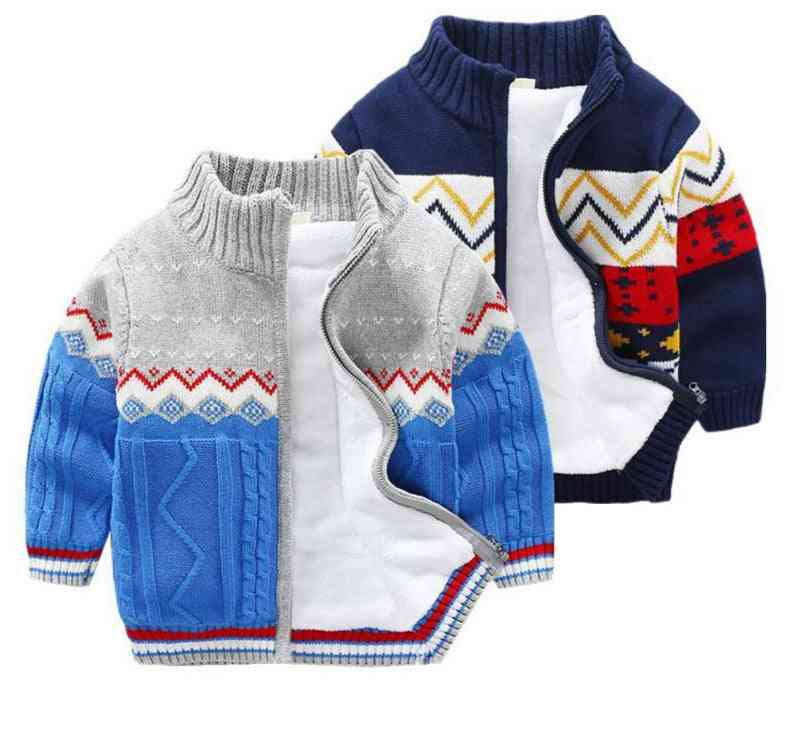 Children Sweater For Boys, Thick Jacket