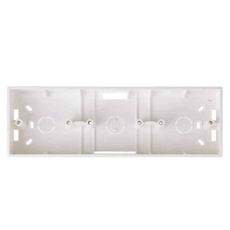 External Mounting Box For 86-type, Triple Switches, Sockets