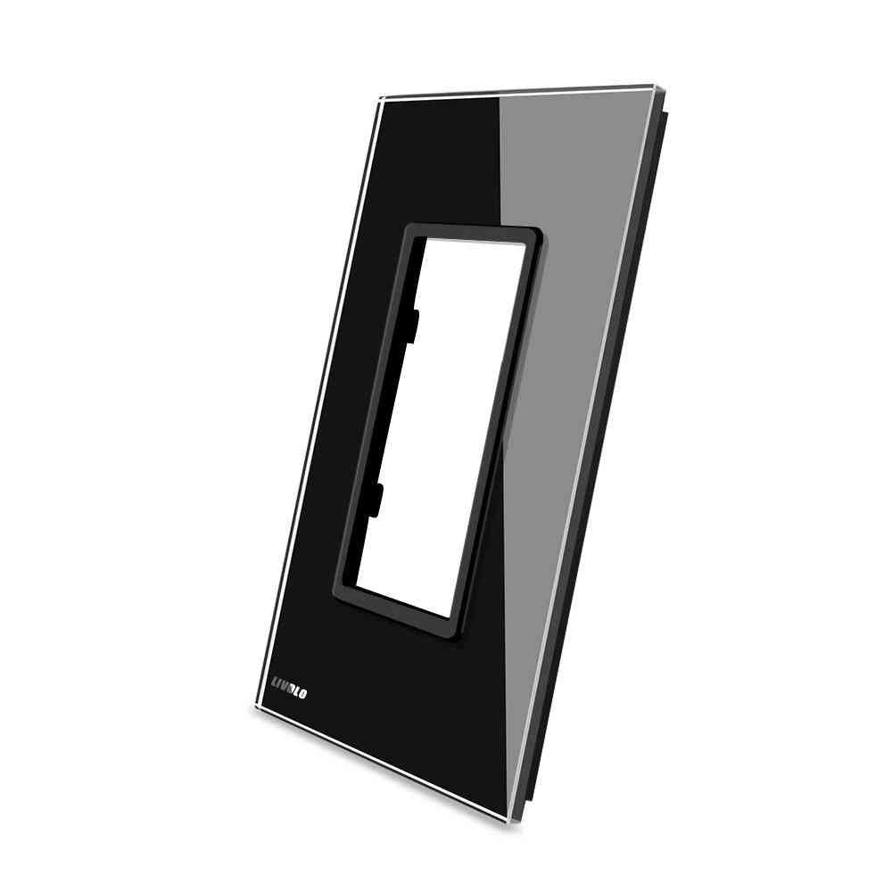 125mm,us Standard Luxury Glass Panel For Socket Switches