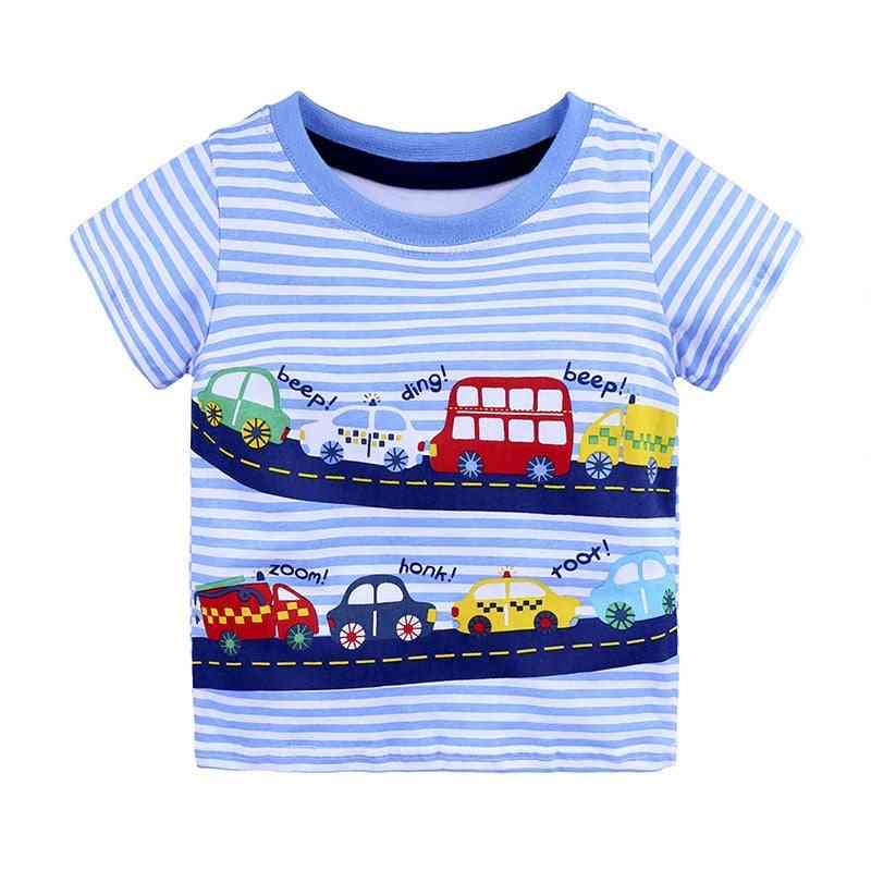 1-6y Casual Baby Cotton, Short Sleeve O-neck T-shirts
