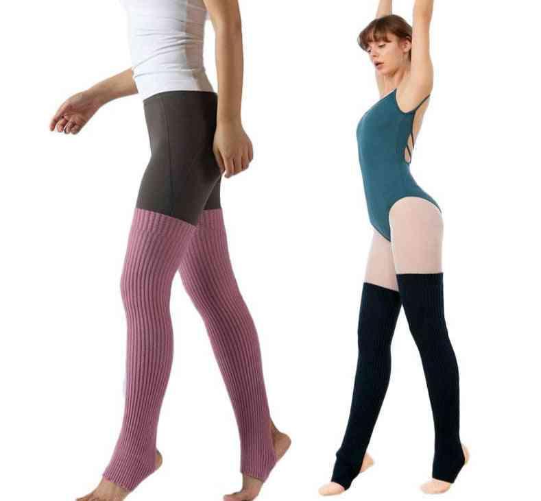 Adult Ballet Leg Warmers, Teenager Yoga Knee Pad For, Boot Socks