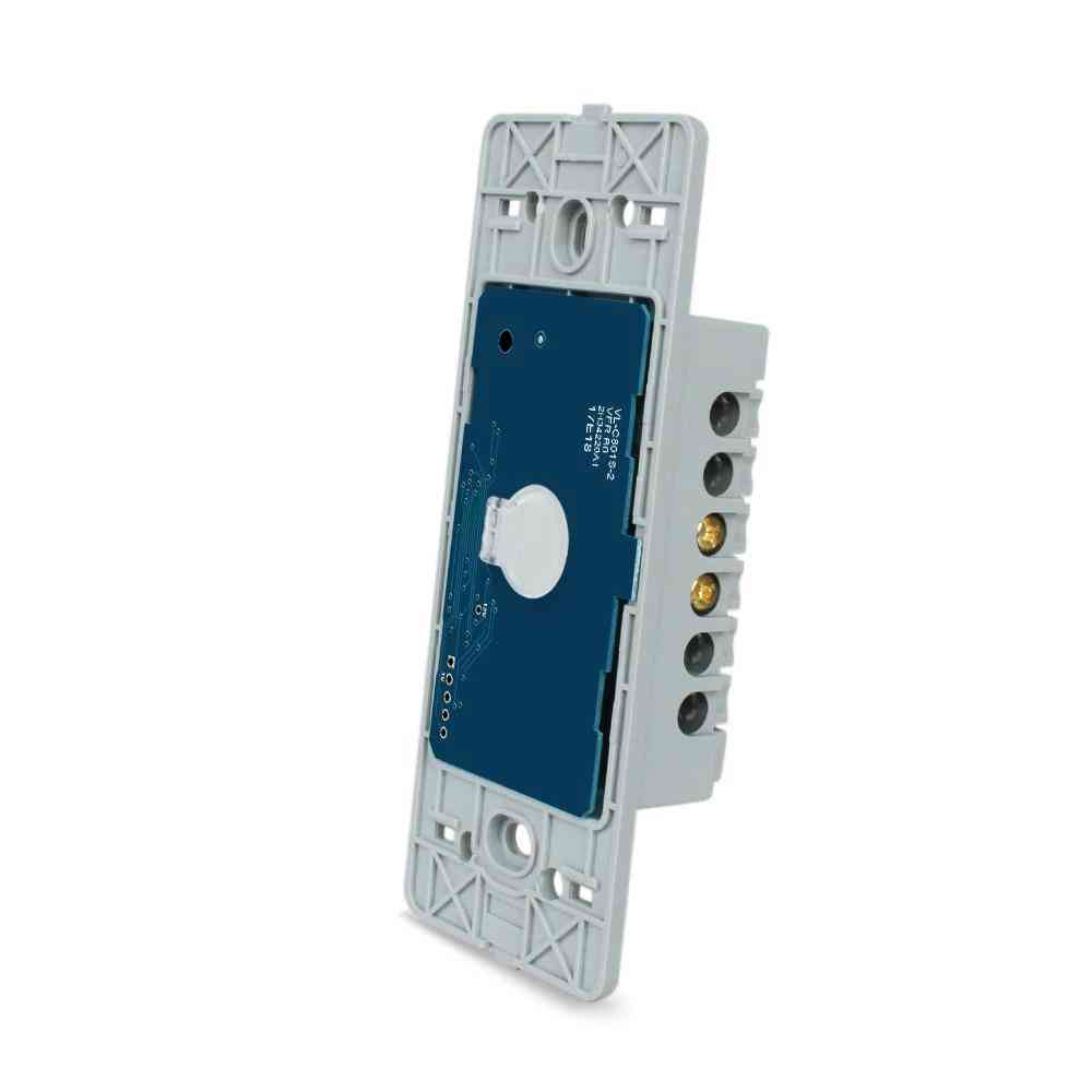 110~250v/1-way Us Standard, Wall Light, Touch Screen Switch