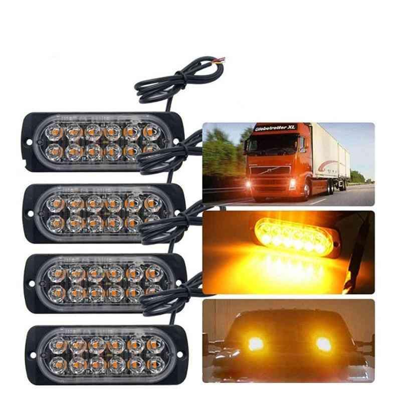 12v-24v 18w Car Truck Emergency Flashing Firemen Lights