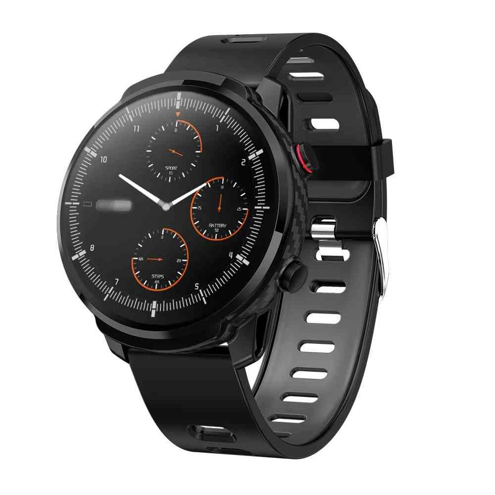 Unisex Full Touch Smart Watch, Sports Clock, Heart Rate Monitor