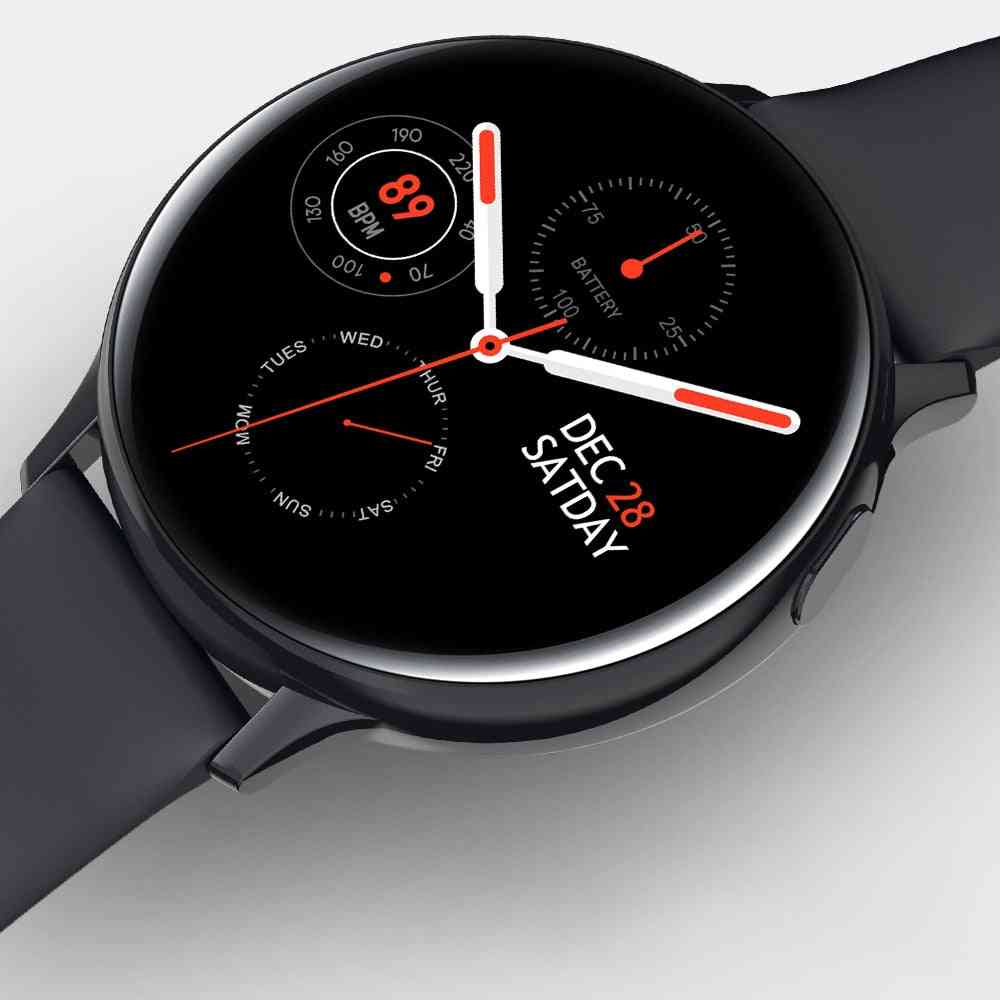 S20 Ecg Men/women Full Touch Screen, Ip68 Waterproof Smartwatch