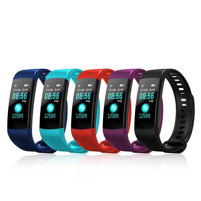 Smart Watch, Sports Fitness Activity Heart Rate Tracker, Blood Pressure Wristband