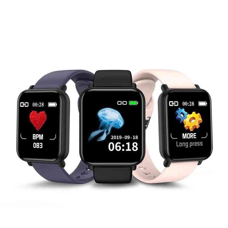 R16 Bluetooth Blood Pressure Round Smartwatch, Waterproof Sport Tracker