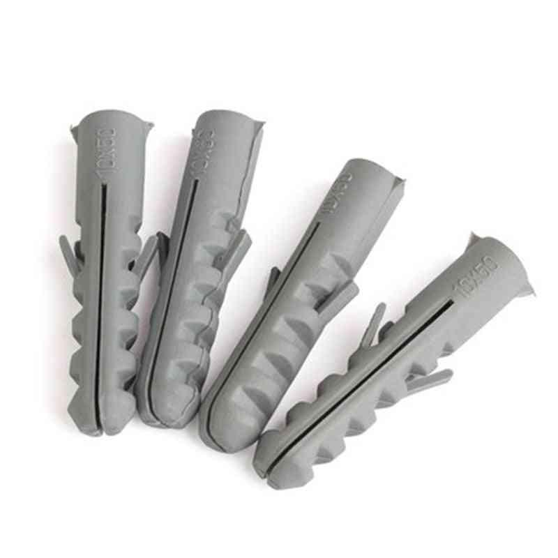 100pcs Plastic Expansion Pipe- M5/m6/m7/m8 Rubber Plug