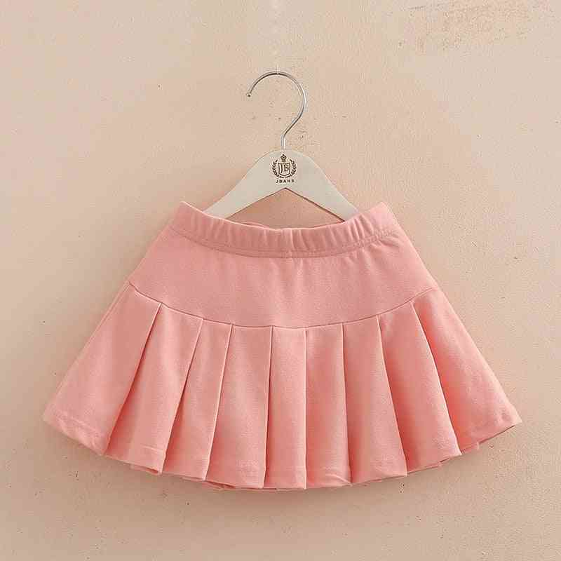 Girls Cotton Pleated Skirt Shorts- Girl Dancing Clothes