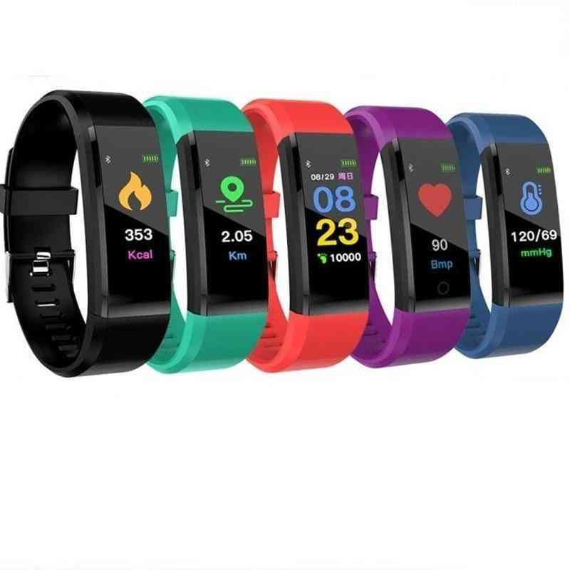 Bluetooth Sport Watches- Health Smart Wristband Heart Rate, Fitness Pedometer Bracelet