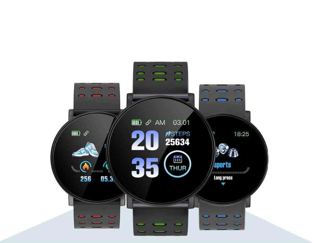 Heart Rate Smart Watch, And Sports Braclet Band