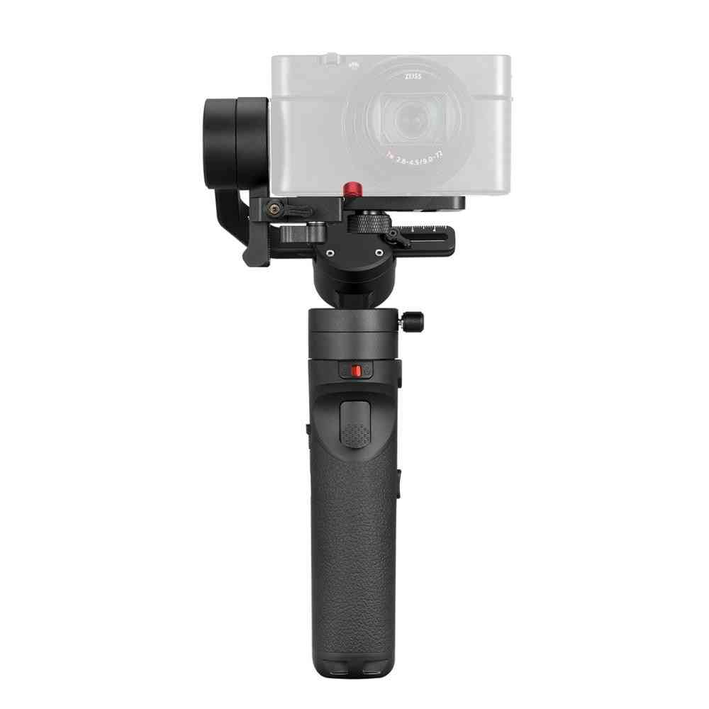 3-axis Handheld Gimbals Stabilizer For Smartphones -compact Mirrorless & Action Cameras