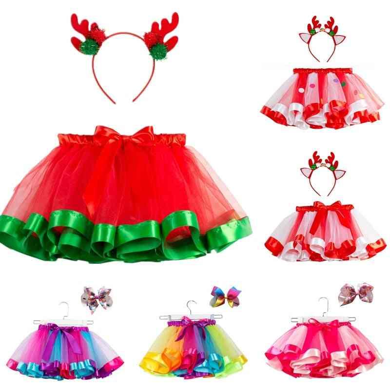 Bow+tutu Skirt, Baby 12m-8t Princess Pettiskirt - Tutu For