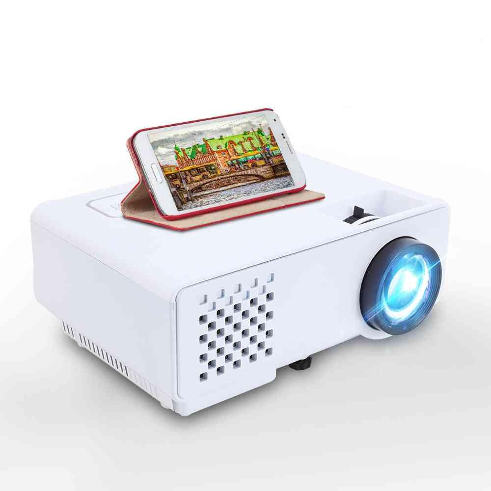 Mini Projector 2800 Lumens, For Full Hd 1080p, Wireless Sync Display